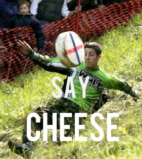UK: Cheese-rolling in England